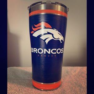 Denver Broncos 20 oz tumbler